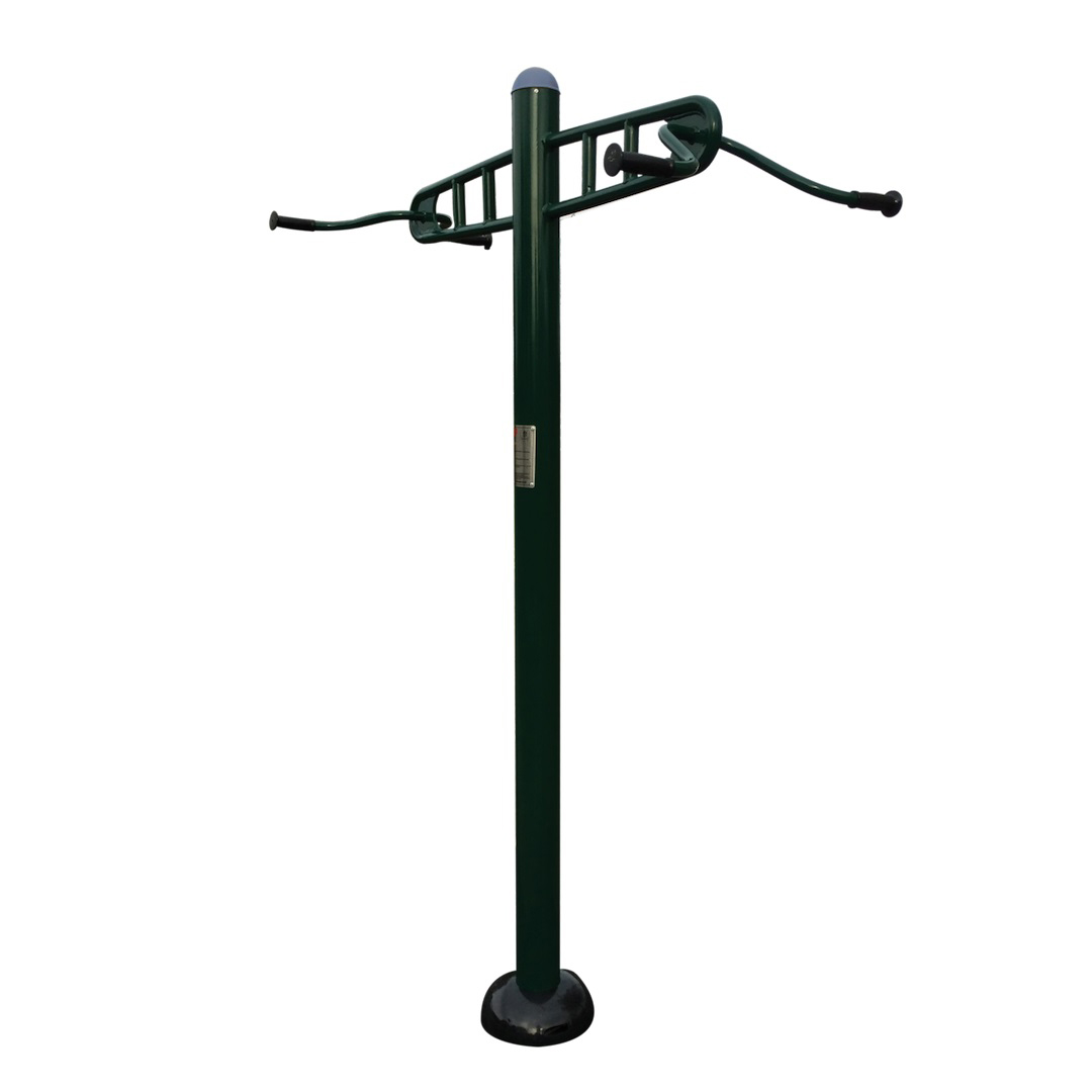 Outdoor Double Pull Up Exercise Station and Fitness ...
