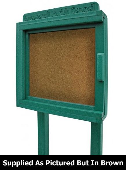 Noticeboard-brown