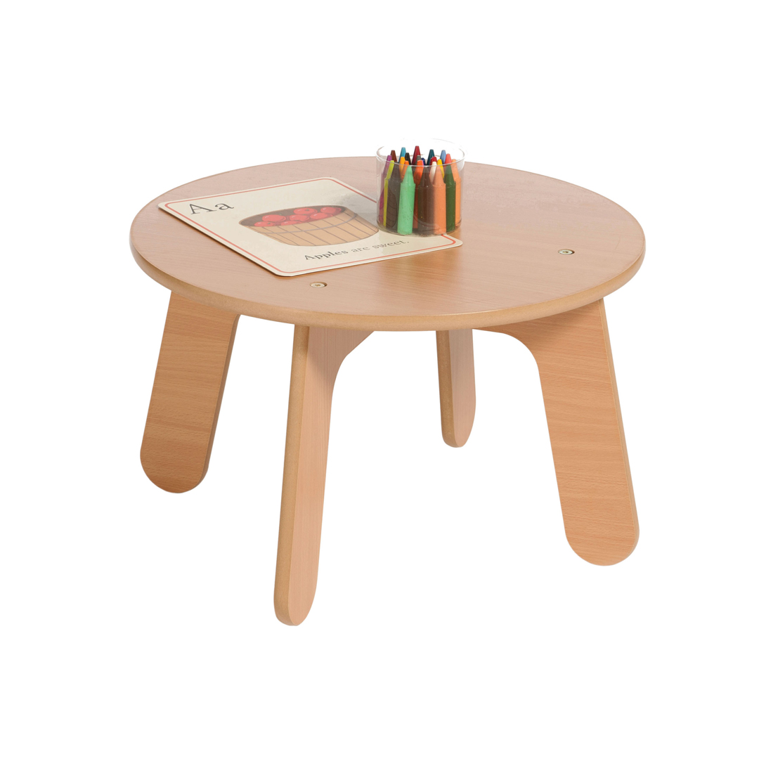 Millhouse Eyfs Nursery Small Wooden Round Table Pt443