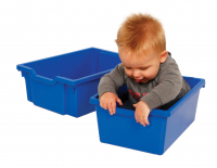 Baby in Trays