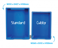 Standard and Cubby Comparison
